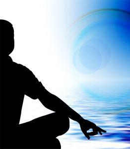 Meditacija človeka sprosti in pomiri