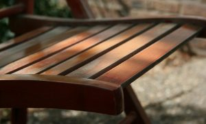 Lesena vrtna garnitura