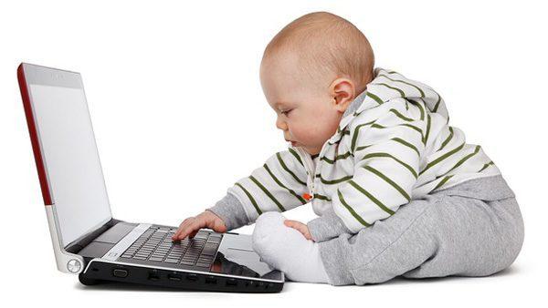 Računalnik v otroški sobi