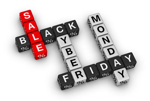 Črni petek in spletni ponedeljek