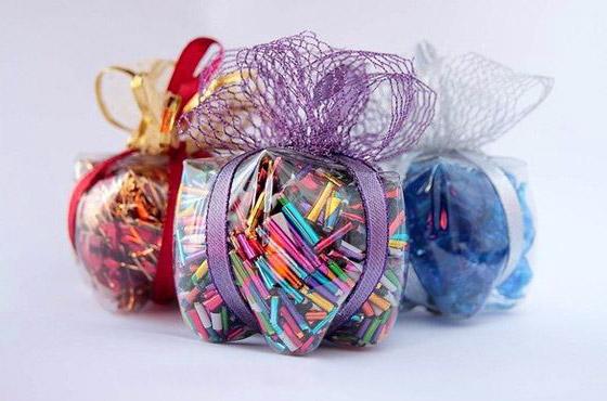 Plastenka - darilna škatla