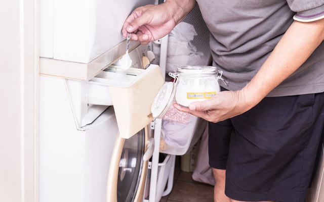 Soda bikarbona kot pralni prašek
