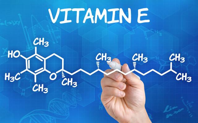 Kemijska formula vitamina E