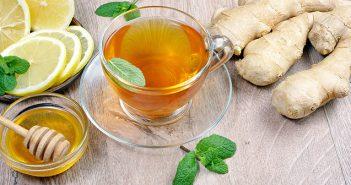 Ingverjev čaj – čudežni napitek proti prehladu