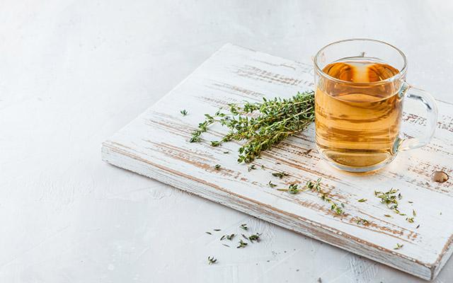 Timijanov čaj proti kašlju