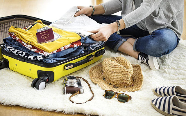 Pakiranje za dopust