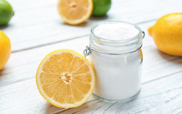 Limona in soda bikarbona