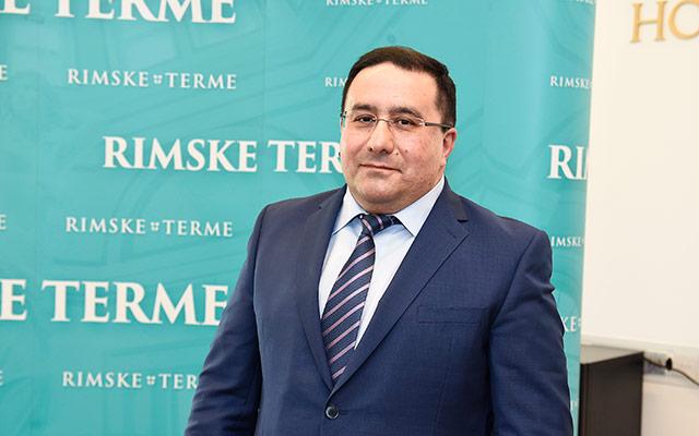 Valery Arakelov - direktor Rimskih term