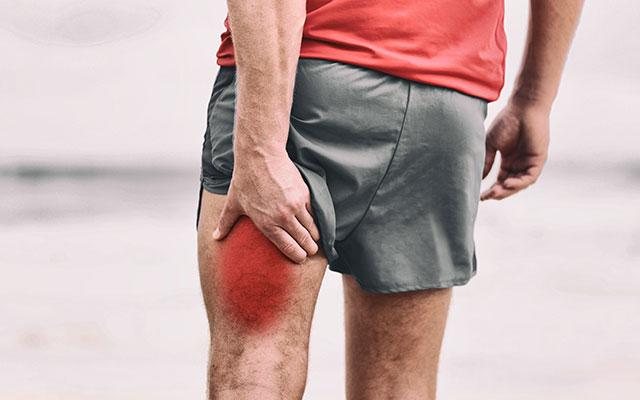Poškodba zadnje stegenske mišice